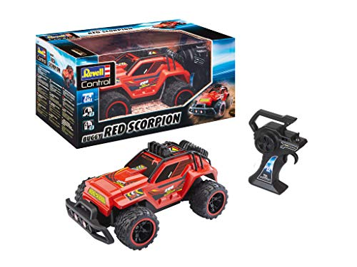 Revell Control 24474 RC Car RED SCORPION, met Li-ion-accu afstandsbediening auto, rood