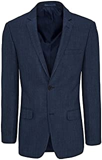 Tarocash Men's Arbus Textured Jacket Polyester Blend Sizes Small - 5XL for Going Out Smart Occasionwear