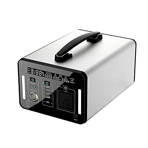 Generador portátil de 220V / 110V AC/D C Mini Generador portátil UPS WAVE SINE 12V D C 500W / 1000W Portable UPS Power Station (Color : 500W)