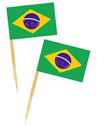 Mini Drapeau de table Brésil
