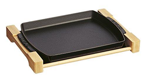 staubストウブ「ステーキプレート」鉄板ホーローオーブン対応【日本正規販売品】40509-523