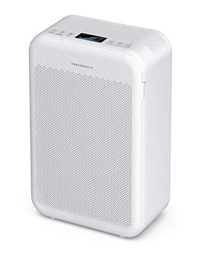 TaoTronics Air Purifier for Home, Large Room Air Cleaner with H13 True HEPA Filter for Allergies, Pets, Dust, Smokers, CADR 384m³/h Desktop Filtration (Available for California)