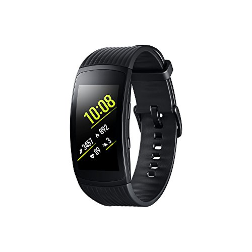 Modelabs Samsung Gear Fit 2 Pro - Seguidor de Actividad con Monitor de Ritmo cardiaco, Talla Small, Negro [Versión importada: Podría presentar Problemas de compatibilidad]