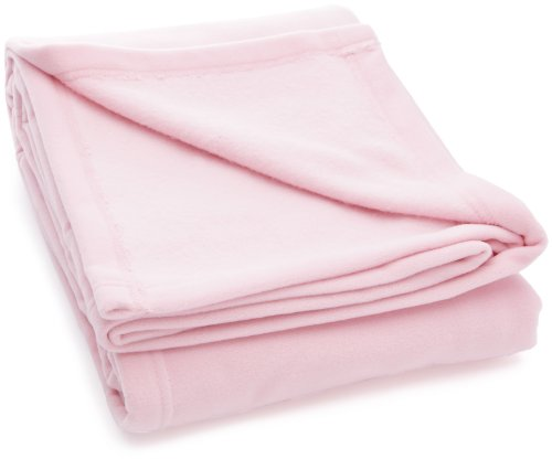 Baby Sun Nursery Couverture Polaire Polyester Rose 100 x 150 cm
