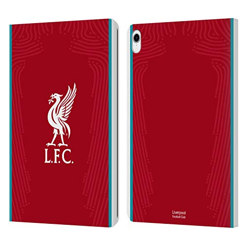 Official Liverpool Football Club Home 2020/21 PU Leather Book Wallet Case Cover Compatible For Apple iPad Pro 11 (2018)
