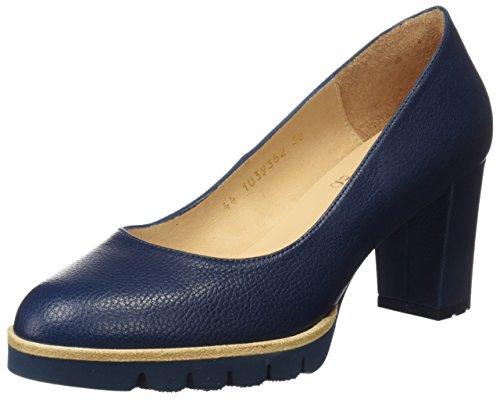 Gadea 40544, Zapatos de tacón con Punta Cerrada para Mujer, Azul (Ginger Pacifico), 37 EU