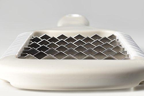 オークス日本製レイエザクザクステンレスおにおろしLS1530ホワイトサイズ:幅10.8x全長28x厚さ2cm