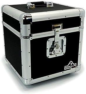 "Gorilla LP100 Holds 100pcs 12"" Vinyl LP 12"" Record Box Storage Case inc"