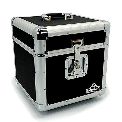 """Gorilla LP100Holds 100piezas de 12cm para discos de vinilo LP 12""""caja de almacenamiento caso Inc garantía de por vida"""