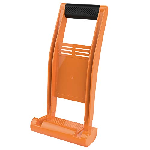 Drywall Carrier, Enpoint Plywood Drywall Carrying Tool with 176lbs Load Lift, Sheetrock Lift Panel Carrier Handle, ABS Plastic Sheet Goods Carrier Mover for Carpenter, Orange