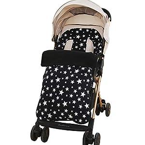 Saco de dormir para bebé recién nacido, saco de dormir, antipatadas, resistente al viento, acolchado para cochecito de…