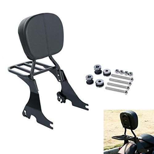 TCMT Low Sissy Bar Backrest & Luggage Rack With Docking Hardware Fit For Harley Sportster XL 883 1200 2004-2020