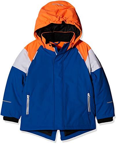 NAME IT Jungen NKMSNOW03 Jacket Block FO Jacke, Mehrfarbig (Lapis Blue Lapis Blue), 146