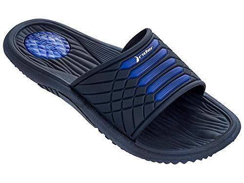 Raider Chanclas Rider Montana VII, Zapatos de Playa y Piscina Unisex Adulto, Multicolor (Azul R82327/24152), 44 EU