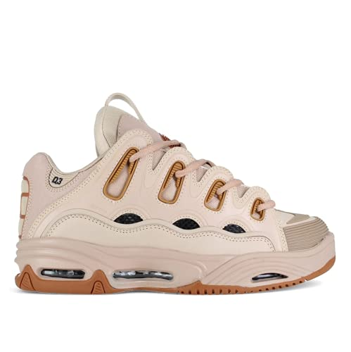 Osiris Chaussures D3 2001 Copperhead/Sand/Tan Cuir Semelle Air Skate BMX - Beige - Copperhead Sand Tan, 37.5 EU Larga EU