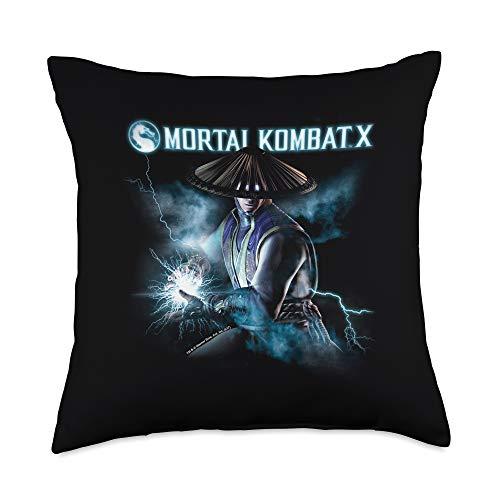 Mortal Kombat X Raiden Lightning Throw Pillow, 18x18, Multicolor