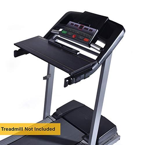 DigitalArts.ws Classic 32' Walk with Me – Treadmill Desk Attachment - Leather Theme