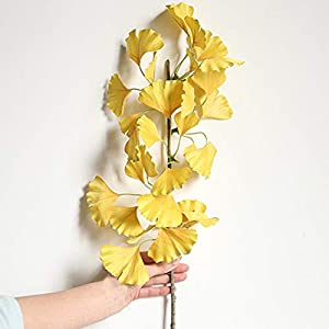 Artificial and Dried Flower Simulation Cosmos Flower Artificial Han Guosen Flowers Female Seaside Holiday Wreath Material Wedding Leaves Decor Handicraft – ( Color: Yellow )