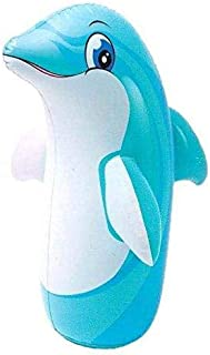 Intex Dolphin Inflatable Punching Bop Bag For Kids (With Sand)