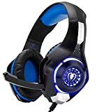 ATTONE Gaming Headset with Microphone for New Xbox 1 PS4 PC Cellphone Laptops Computer - Surround Sound, Noise Reduction Game Earphone with LED Lighting 3.5MM