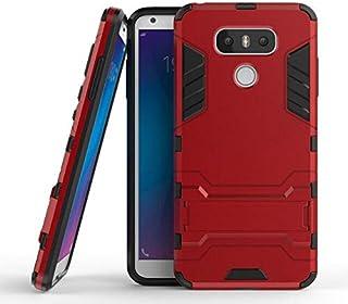 جراب واقي ثلاثي الأبعاد لهاتف LG G6 Dual H870 H870K H871 H872 H873 لهاتف LG G6 plus G6+ G600KP جراب خلفي مضاد للصدمات (GTX...