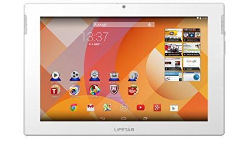 MEDION LIFETAB S10346 MD 98992 (10.1 Zoll Full HD-Display) Tablet-PC (Intel Atom Prozessor, 32GB Speicher, Android 4.4, Metallgehäuse) weiß