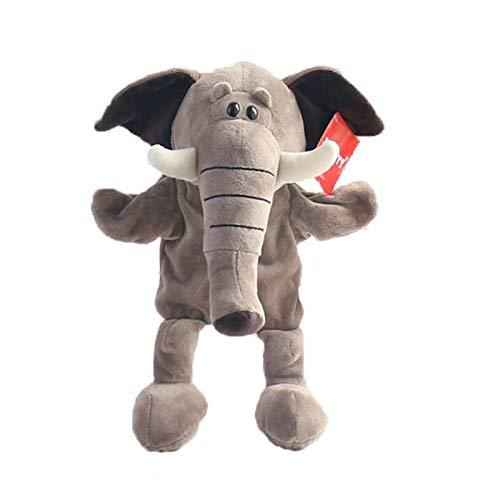 Jgzwl Marioneta felpaMarioneta De Mano Animal Elefante