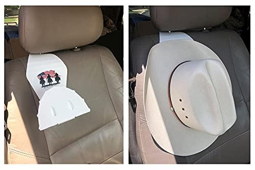 Hat Holders/Racks for Cars & Trucks, Cowboy Hat Hangers for Cars & Trucks (QTY 2)