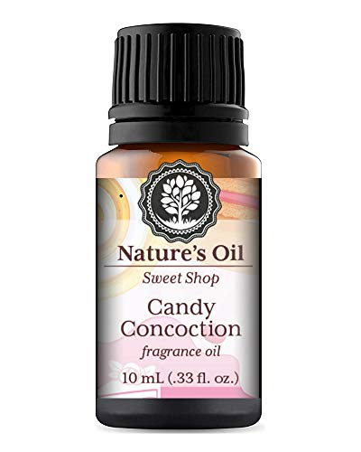 Candy Concoction Fragrance Oil Sweet 10ml for Slime Scents, Diffuser Oils, Making Soap, Candles, Lotion, Home Scents, Linen Spray and Lotion