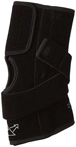 [ミズノ] 登山用ひざサポーター(前開きタイプ・1枚入り) V字型伸縮ベルト 関節サポート 膝 男女兼用 19SP843 09 ブラック L