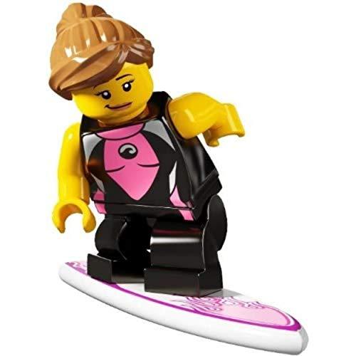 LEGO 8804 - Minifigur Surferin aus Sammelfigurenserie 4