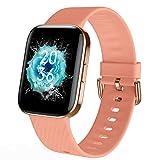 Smartwatch -Reloj Inteligente Mujer Impermeable con Cronómetro, Pulsera Actividad Inteligente para Deporte, Reloj de Fitness con Podómetro Smart Watch...