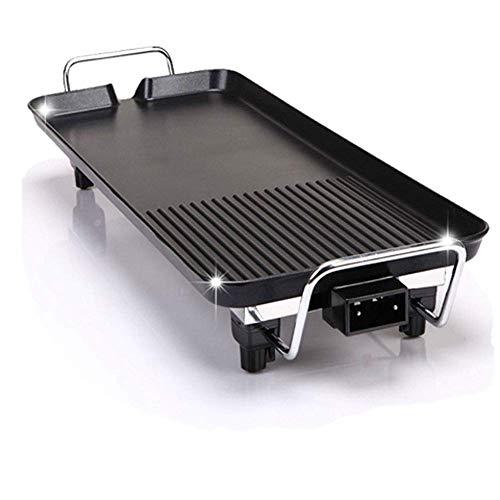 Wein Set 68X29 cm Teppanyaki Grill Große solide elektrische 1500W Bratpfanne für Spaß und gesunde Tischplatte Essen
