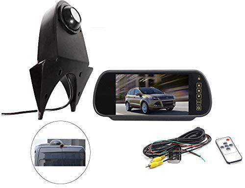 Vision de Nuit la Vue arrière imperméables IR Renforts troisième feu Stop caméra pour Mercedes - Benz Sprinter monospace + 7 Pouces HD inverser rétroviseur surveiller