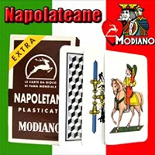 Napoletane 97/38 Modiano Regional Italian Playing Cards. Authentic Italian Deck.