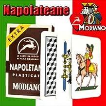 Napoletane 97/38 Modiano Regional Italian Playing Cards. Authentic Italian Deck.