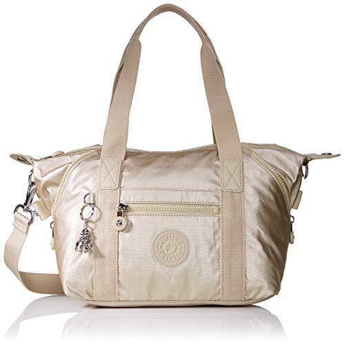 Kipling Damen Art Mini Taschen mit Tragegriff, Gold (Cloud Metal), Einheitsgröße