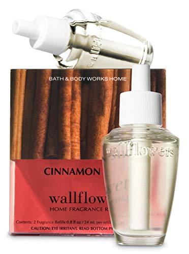 Bath & Body Works Cinnamon Stick Wallflowers Home Fragrance Refills, 2-Pack (1.6 fl oz total)