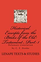 Historical Excerpts from the Books of the Old Testament, Part 1