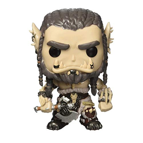 Funko Pop Games : Wow - Durotan 3.9inch Vinyl Gift for Boys Games Fans SuperCollection