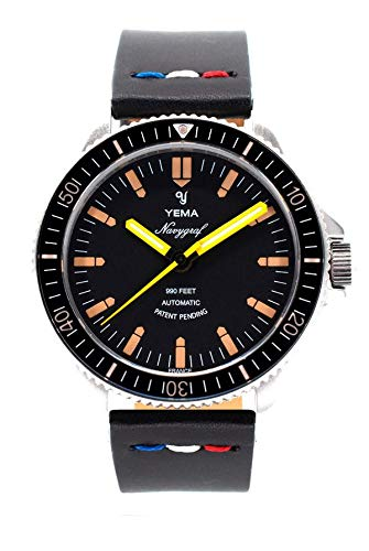 Yema Herren-Armbanduhr NAVYGRAF Heritage YNAV2019-AA2S