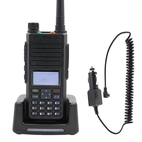 Walkie Talkie Walkie-Talkie Dual Frecuencia Ranura Digital Radio 136 * 62 * 36mm Addearphone