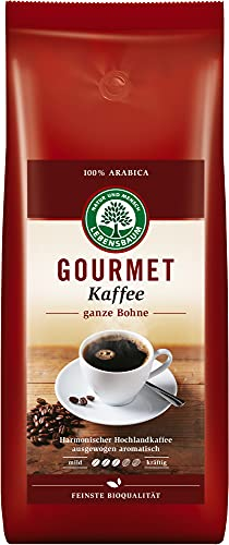 Lebensbaum Bio Gourmet Kaffee, klassisch, ganze Bohne (6 x 1000 gr)
