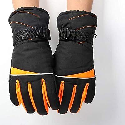 LYDIANZI Winter warme Handschuhe for Männer Wasserdichten Ski-Handschuhe Winter Outdoor Sport Winddichtes Schnee Handschuhe, verstellbare Bündchen Plus Velvet windundurchlässigen Wasserdichten