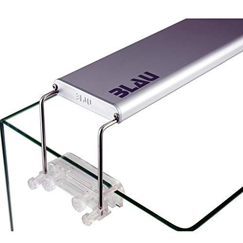 BLAU aquaristic BA-7730031 Mini-Lumina LED 30 für Nano-Aquarien von 30-50 cm länge 18 Watt - Süßwasser Leuchtbalken, Aufsetzlampe, Aquariumleuchte