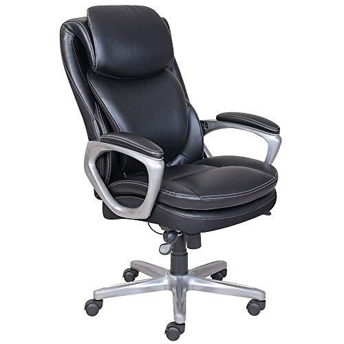 Serta Smart Layers Arlington AirManager Chair, Black