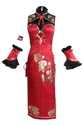 RedJade Date A Live Tokisaki Kurumi Cheongsam Cosplay Kostüm Damen M