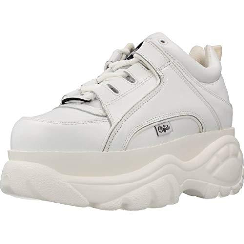 Buffalo London 1339-14 2.0, Zapatillas Mujer, Blanco, 38 EU