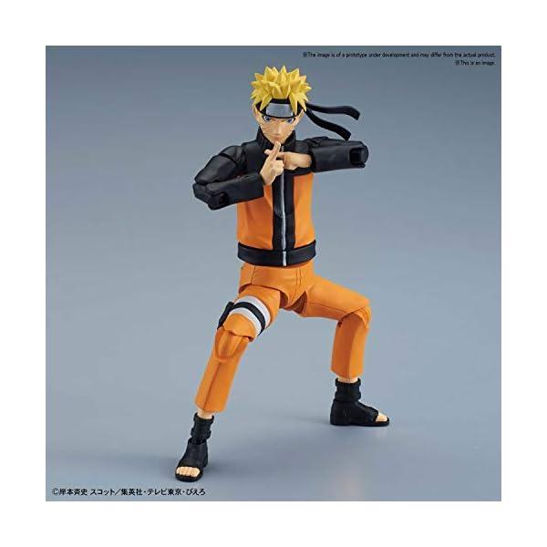 BANDAI Uzumaki Model Kit 16 CM Naruto Figure-Rise, (BDHNA553348) 1
