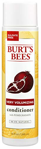 Burt's Bees Pomegranate Seed Oil Very Volumizing Conditioner, Sulfate-Free Conditioner, 10 Oz (Package May Vary)